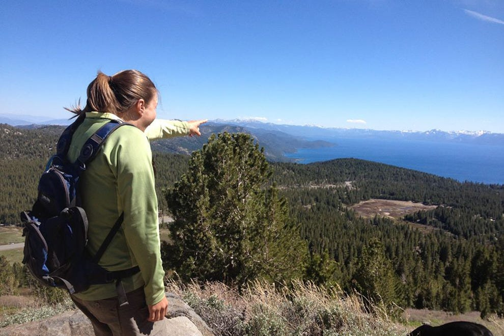 The Tahoe Rim Trail has some of the best views of the lake
