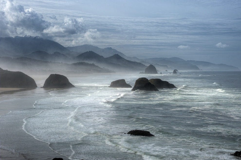 Cannon Beach is one of Oregon's most beautiful