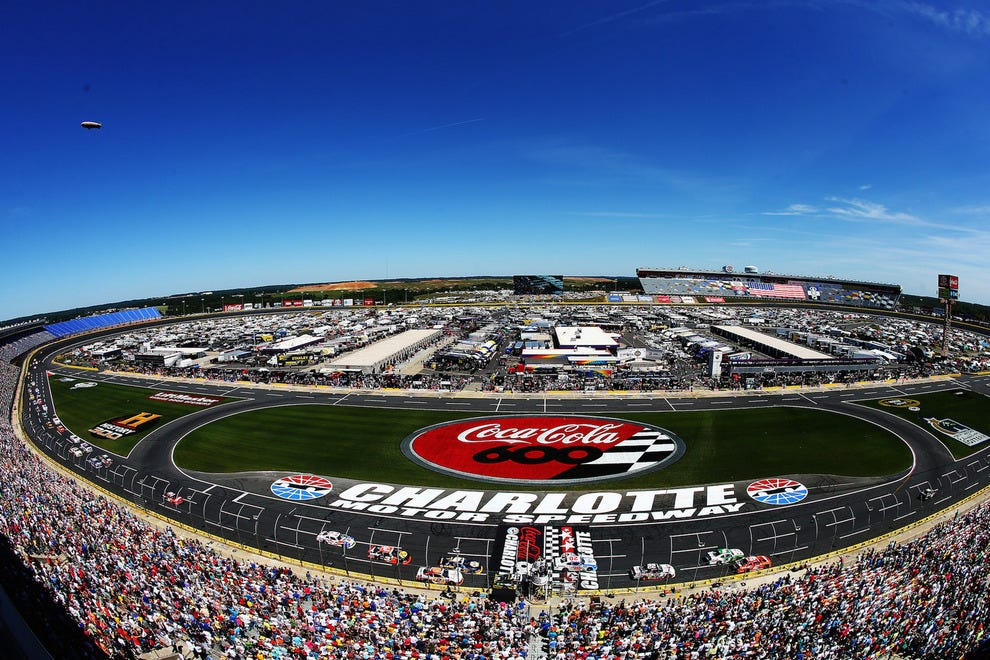 Best nascar track winners 2015 10best readers 39 choice for Charlotte motor speedway driving experience