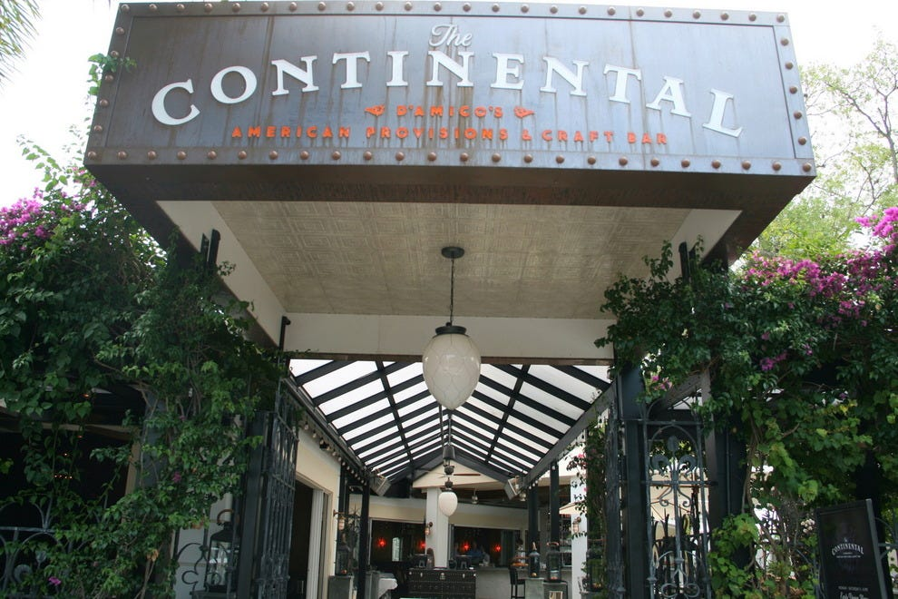 The Continental redesigned the old Handsome Harry's for an experience quite out of the ordinary