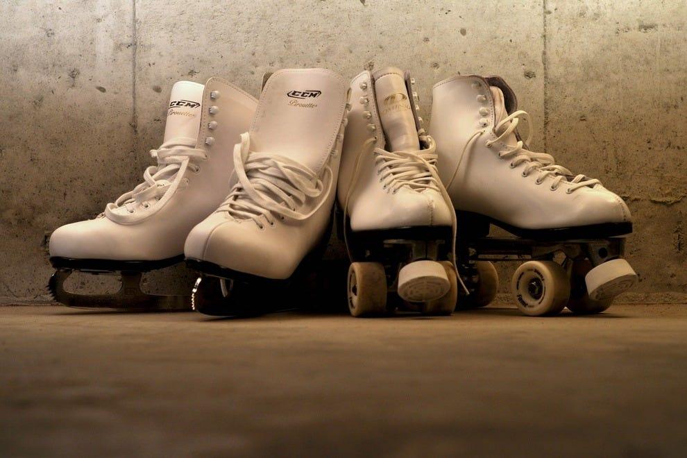 冬天溜冰,夏天溜冰,无论你什么时候去,费城的里弗林都是完美的。