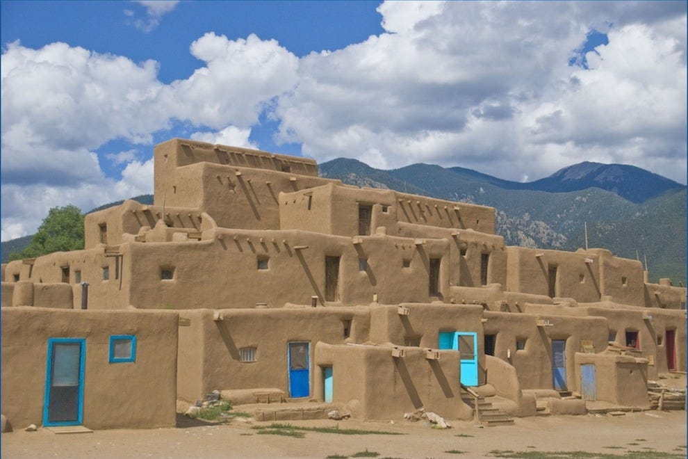 The Taos Pueblo is one of the best Native American experiences
