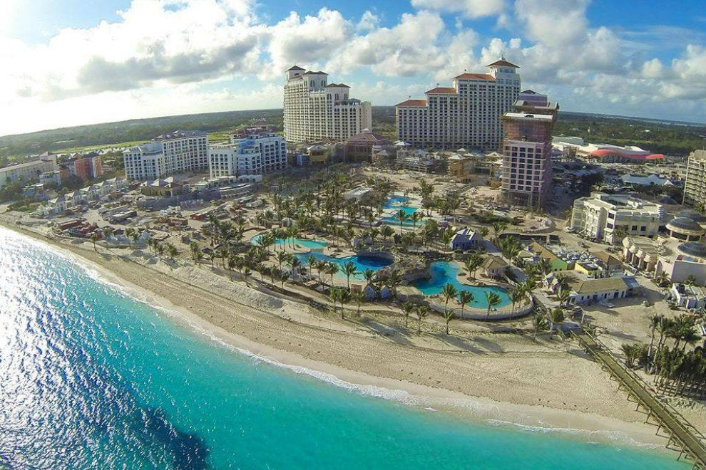 The Shorefront of Nassau is Changing with Baha Mar