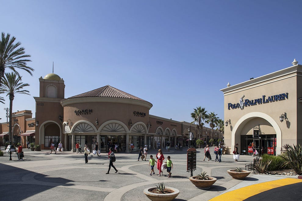 Shopping at Las Americas Premium Outlets in San Ysidro