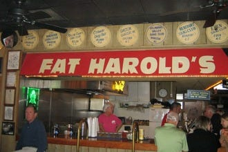 Fat Harold's Pays Tribute to Namesake, Pioneer of the Shag