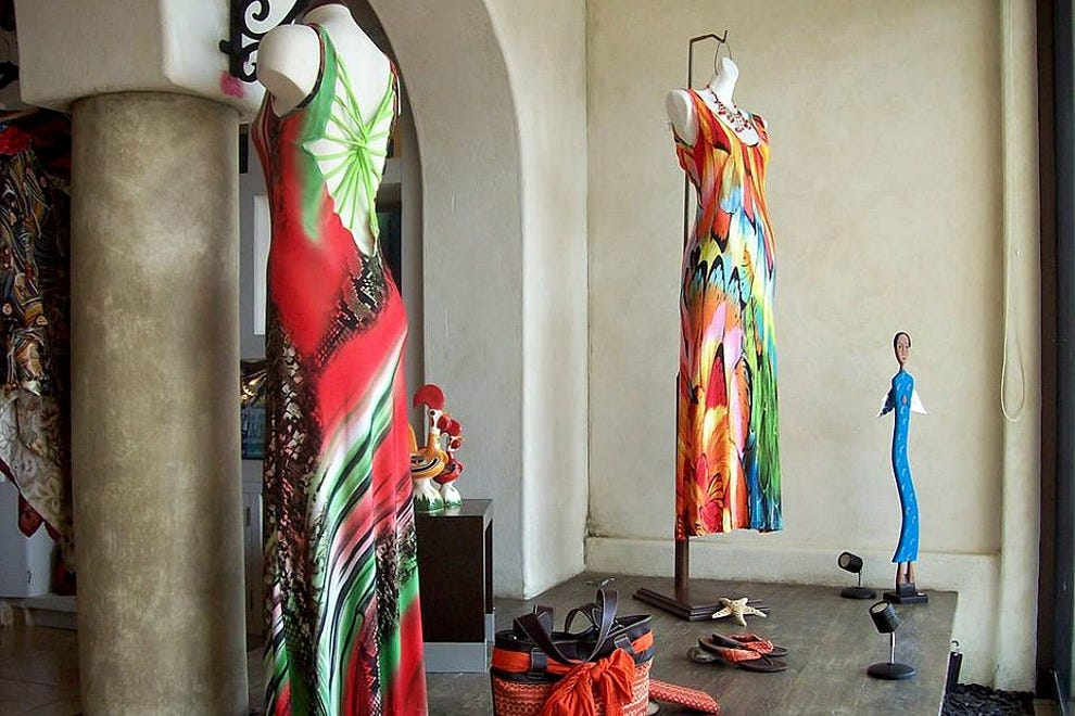 Casa Vieja and Pepita's Magic of the Moon are two of the premier shops for women's fashions in Los Cabos