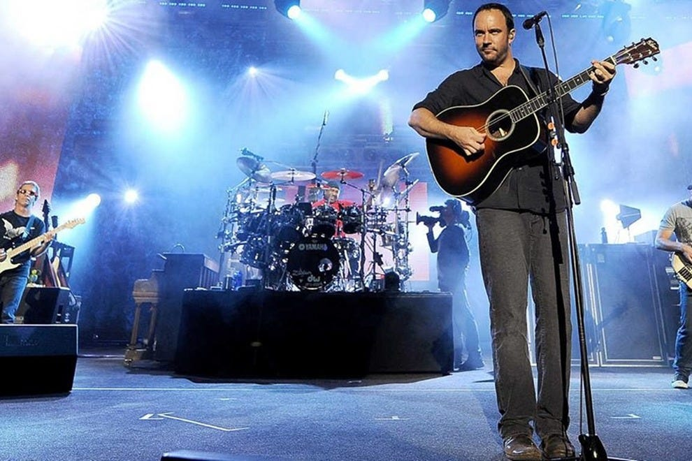 Dave Matthews Band will jam for two nights under the stars at Coral Sky Amphitheatre