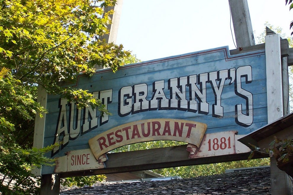Aunt Granny's All-You-Care-to-Eat Buffet