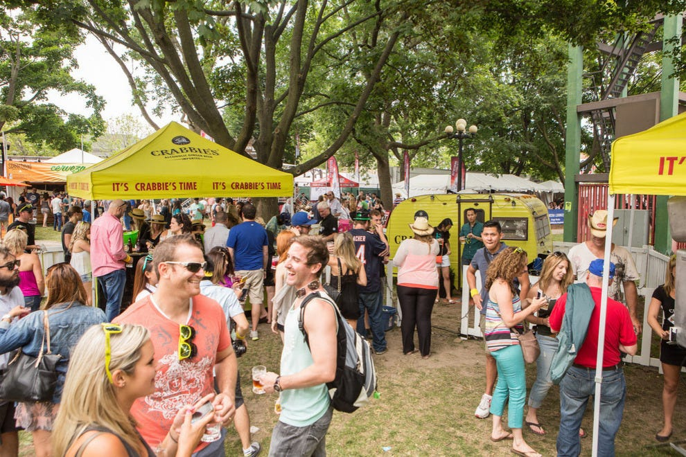 Free-range Canadians at Toronto's Festival of Beer