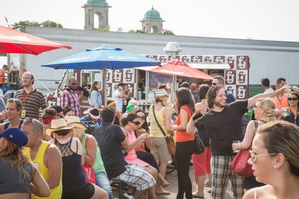 Torontonians will always gather together for great food and drink