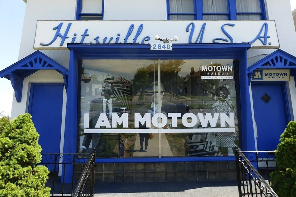 It's okay to dance at the Motown Museum
