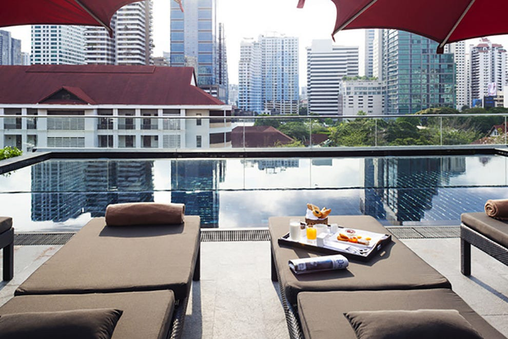 Swimming pool at U Sukhumvit Bangkok