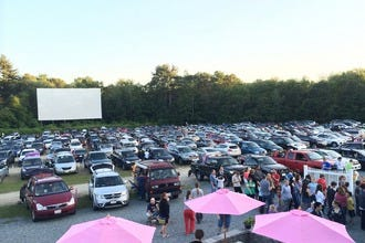 Make Memories at Mendon Twin Drive-In with Friends or Family