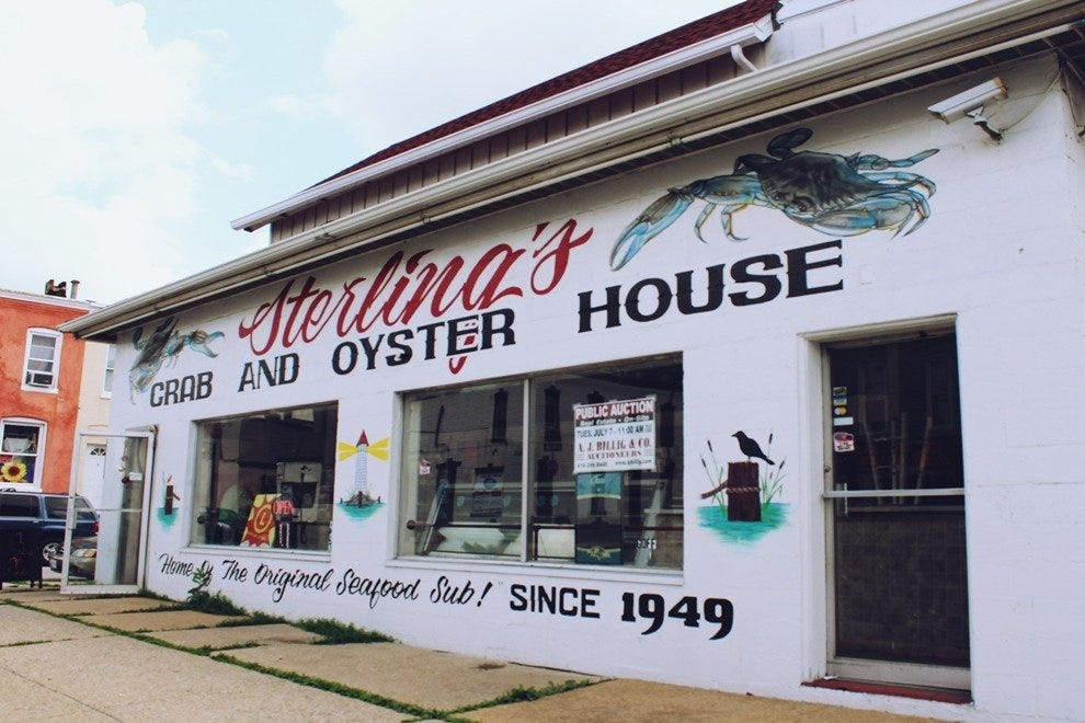 Sterling's Crab and Oyster House