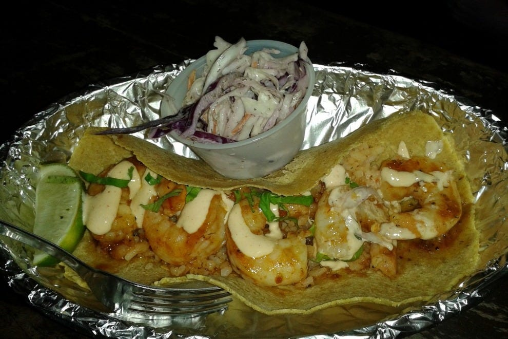 The Smoke Chile Butter Shrimp Taco is not to be missed