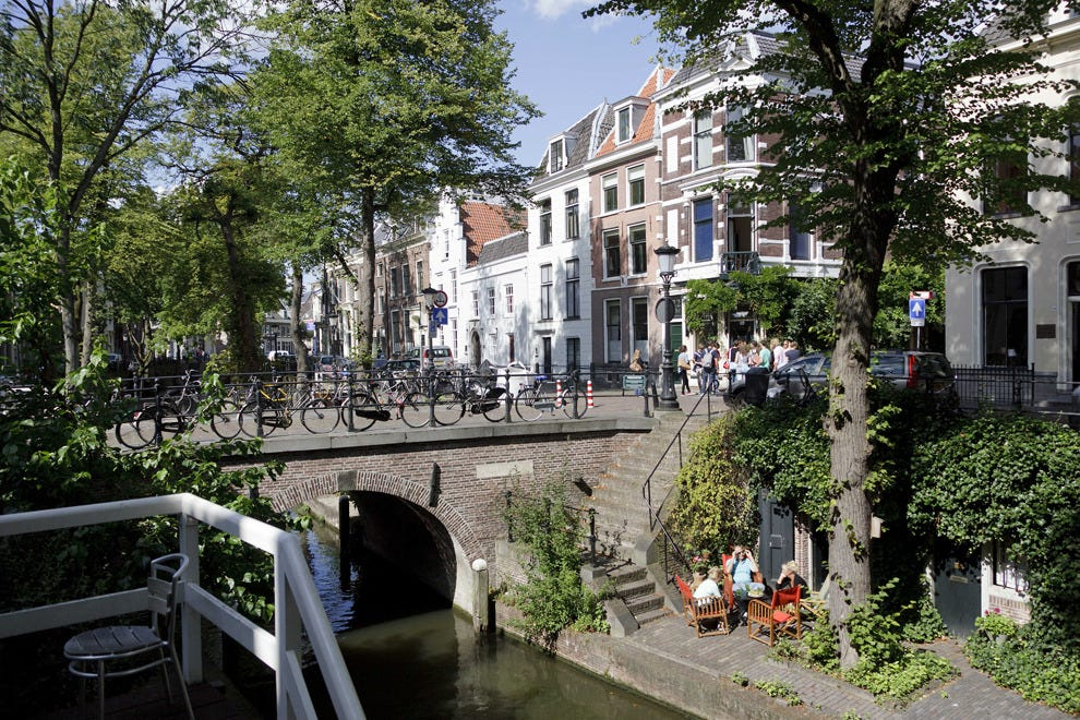 Take a seat along the canals in Utrecht