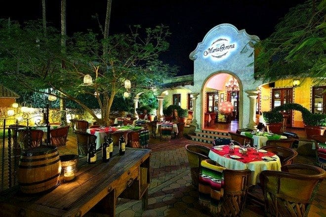 Restaurant Slideshow Downtown In Cabo San Lucas