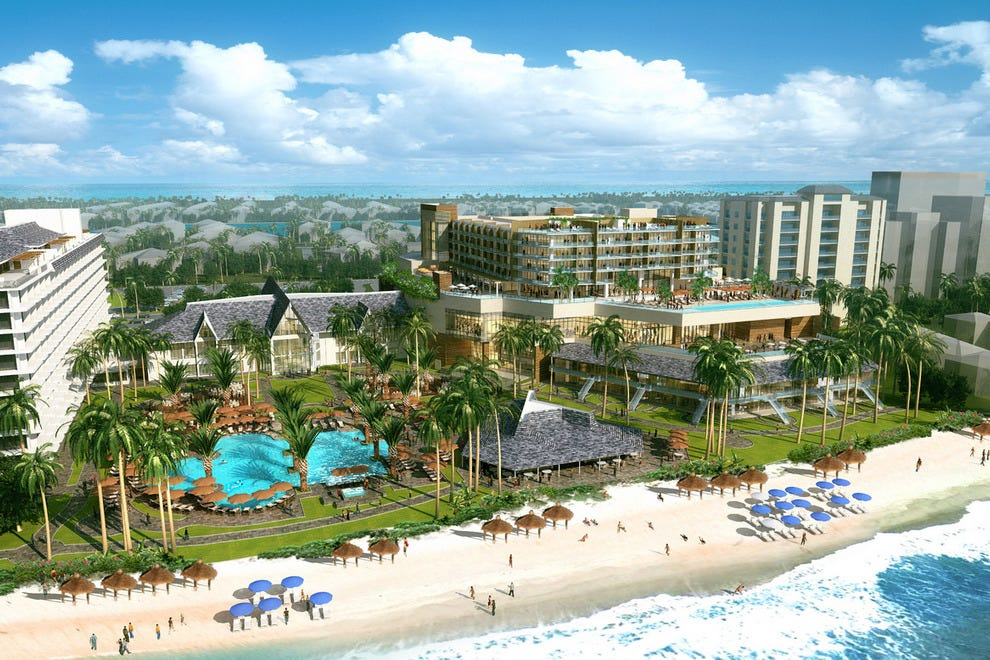 A rendering of the completed JW Marriott on Marco Island
