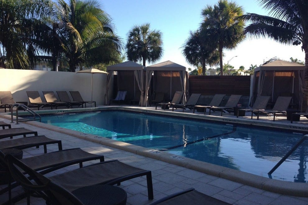 Beat the heat and take a dip in the relaxing, outdoor pool at Miami Dadeland Hotel