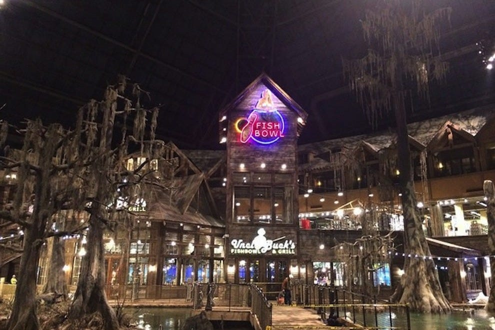 Bass pro shops at the pyramid memphis attractions review for Fishing in memphis