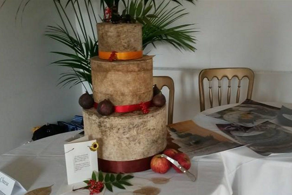 Wedding cheese is a special occasion