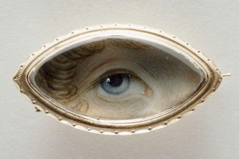 "George Engleheart's ""A Woman's Eye"" overlooks Kenwood House's interiors"