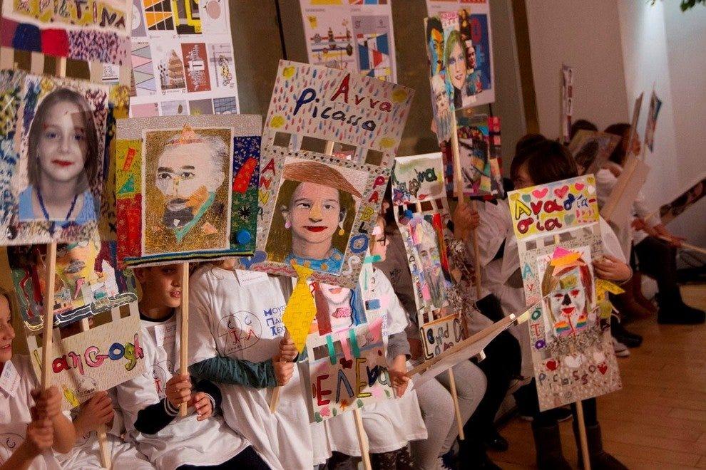 Греческий Детский Художественный Музей  Семейное развлечение в Афинах p 20   967   961   972   957   953   945    924   917   928   932  54 990x660