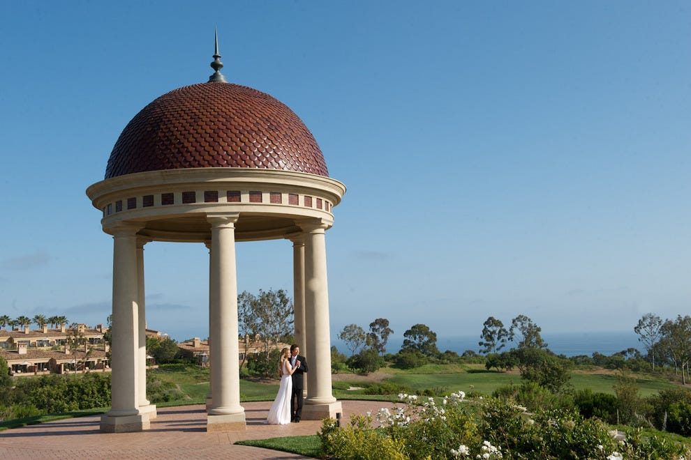 The Italiante rotunda at The Resort at Pelican Hill was designed with weddings in mind.