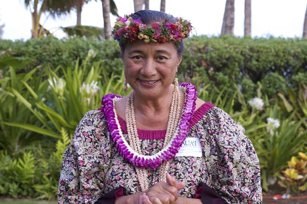 Revered Kauai native and cultural practitioner Sabra Kauka