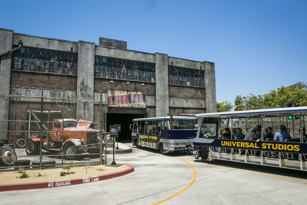 The entrance to the new Fast & Furious – Supercharged ride