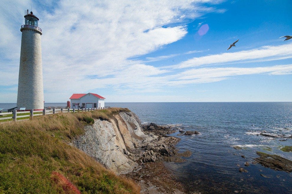 The stunning Saint Lawrence and coast of Eastern Canada