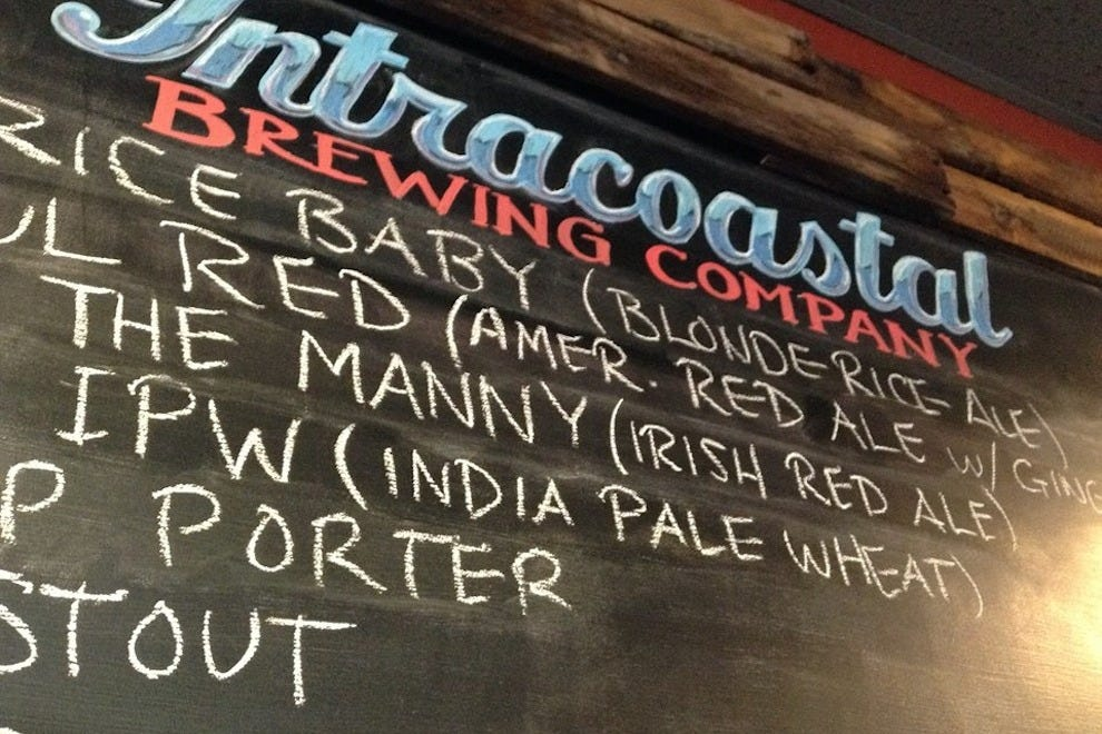 The ever-changing menu at Intracoastal Brewing Company