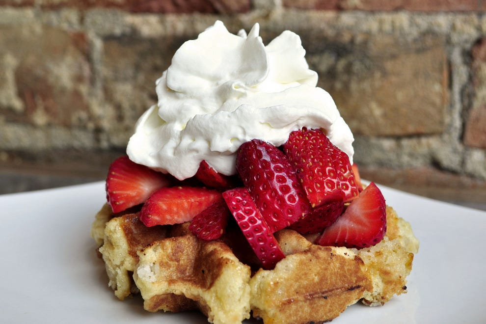 Taste of Belgium's known for their waffles, for good reason