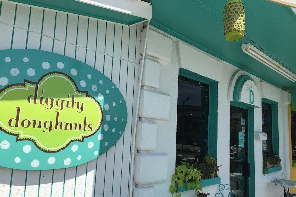 Diggity Doughnuts is now at home in a brick-and-mortar shop on upper Meeting Street in downtown Charleston