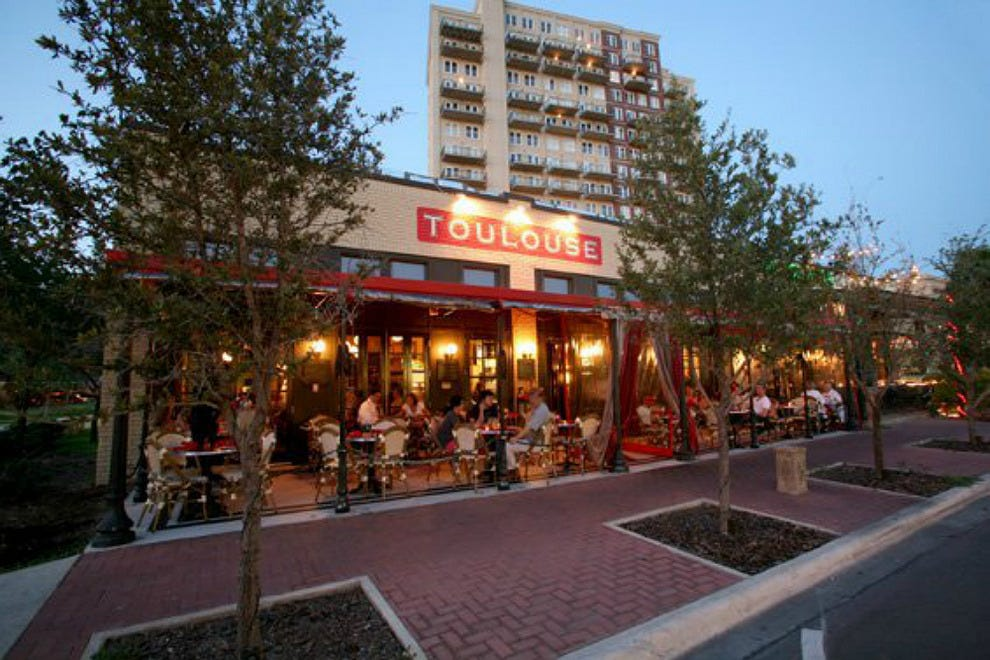 Best Outside Restaurants Dallas