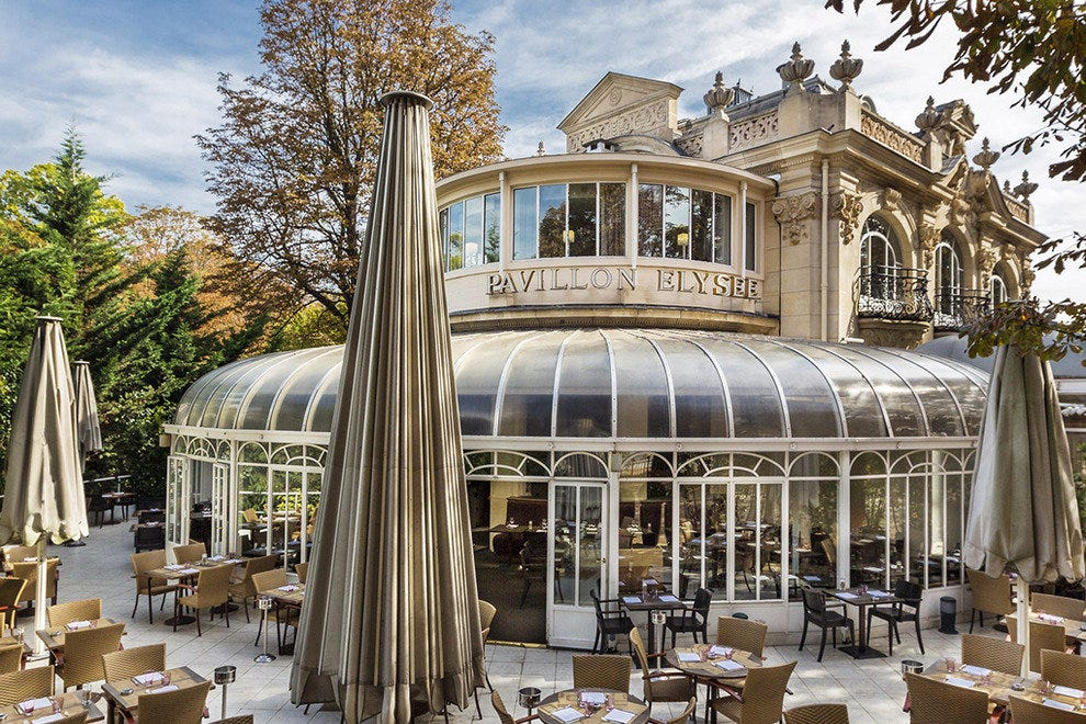 Paris outdoor dining restaurants 10best restaurant reviews - Petit jardin tijuana paris ...