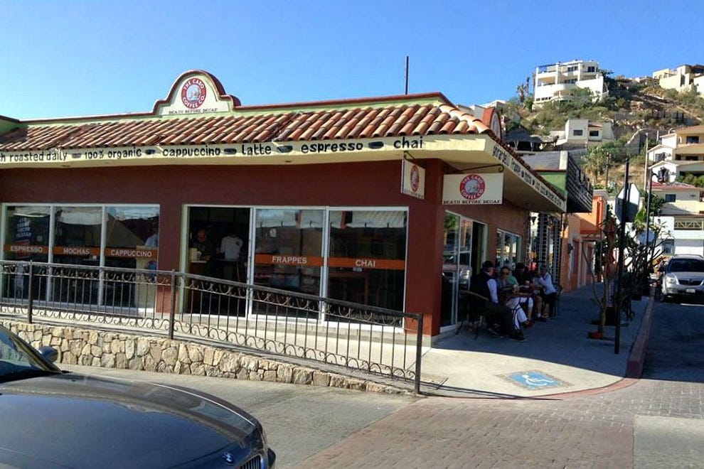 For a freshly brewed pick-me-up or souvenir bags of the best coffee in Cabo San Lucas, visit Cabo Coffee's café across from Plaza Amelia Wilkes