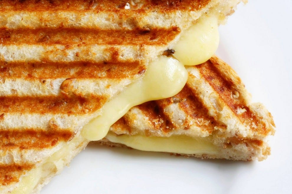 Head to C'est Cheese for a gourmet grilled cheese – the ultimate comfort food