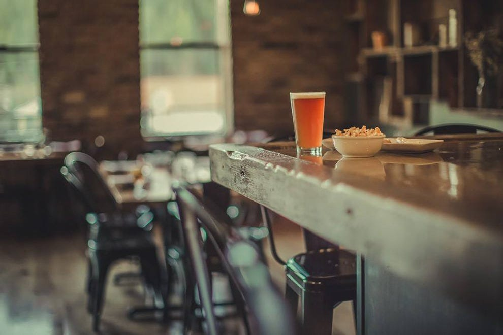 Truckee Tavern & Grill's bar serves beer, wine and signature cocktails