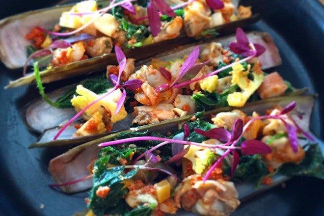 Seafood in London