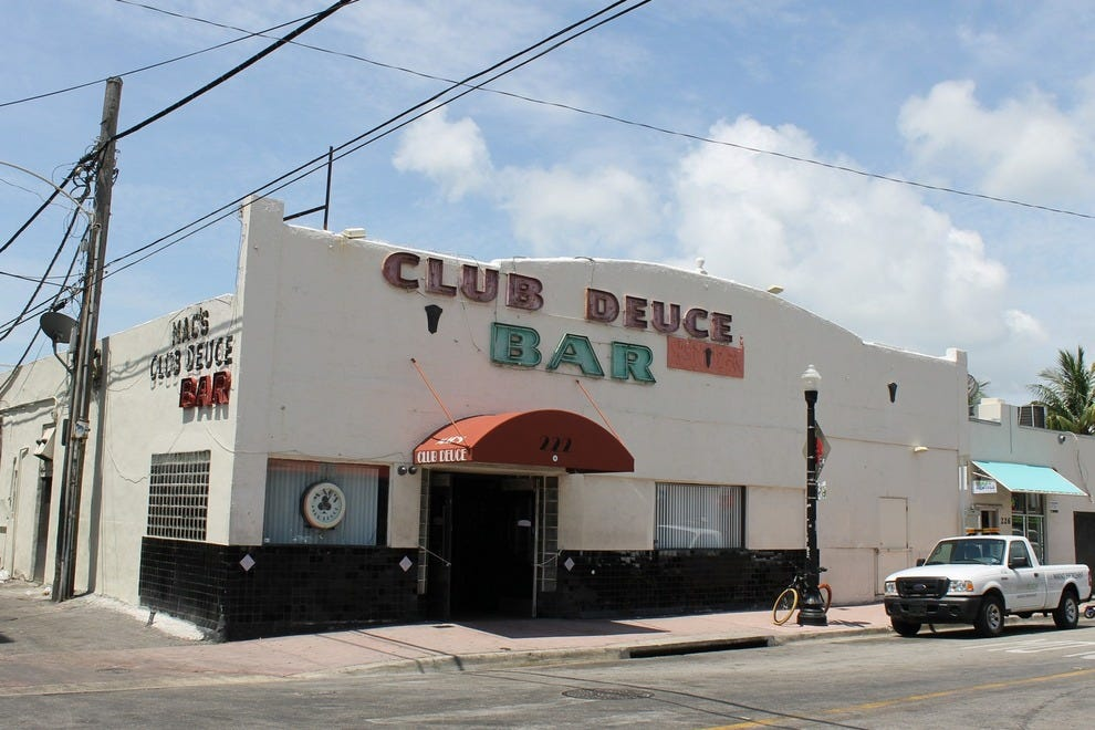 Mac's Club Deuce is a dive inside and out – but it's definitely the best of its kind