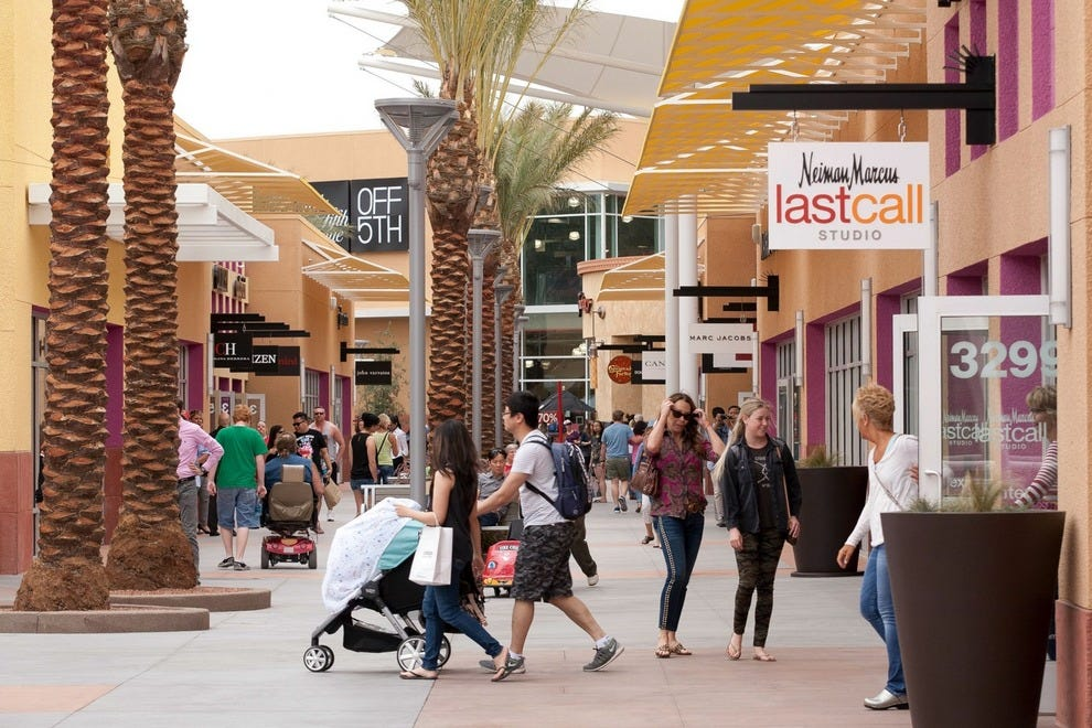 Part of the expansion at Las Vegas North Premium Outlets