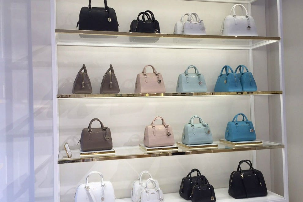 Inside The FURLA Boutique At Las Vegas North Premium Outlets U2014 Photo  Courtesy Of Heather Turk