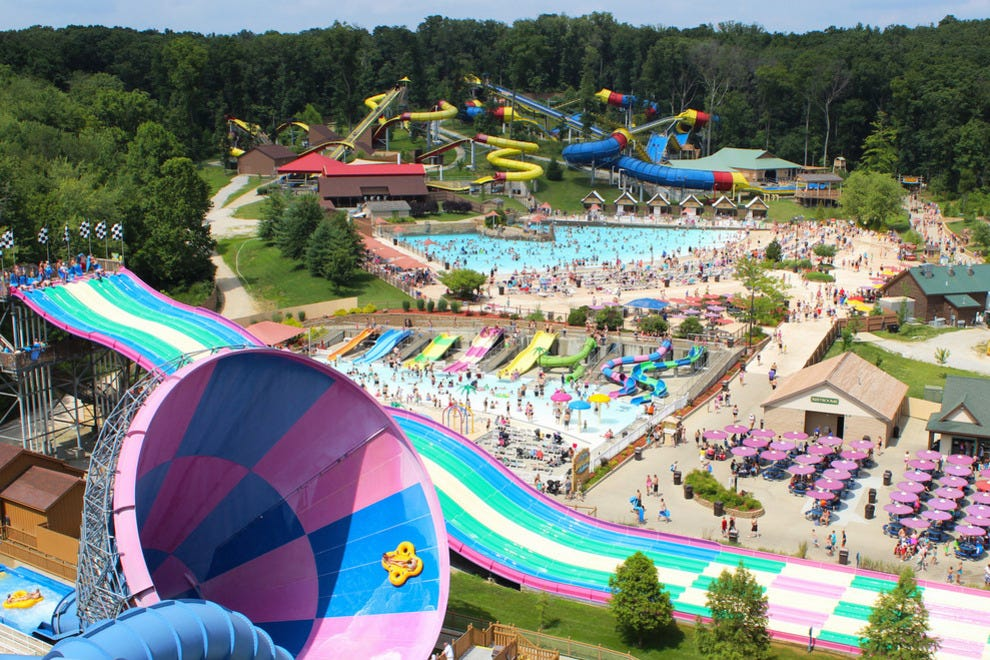 Best Outdoor Water Park Winners 2015 10best Readers