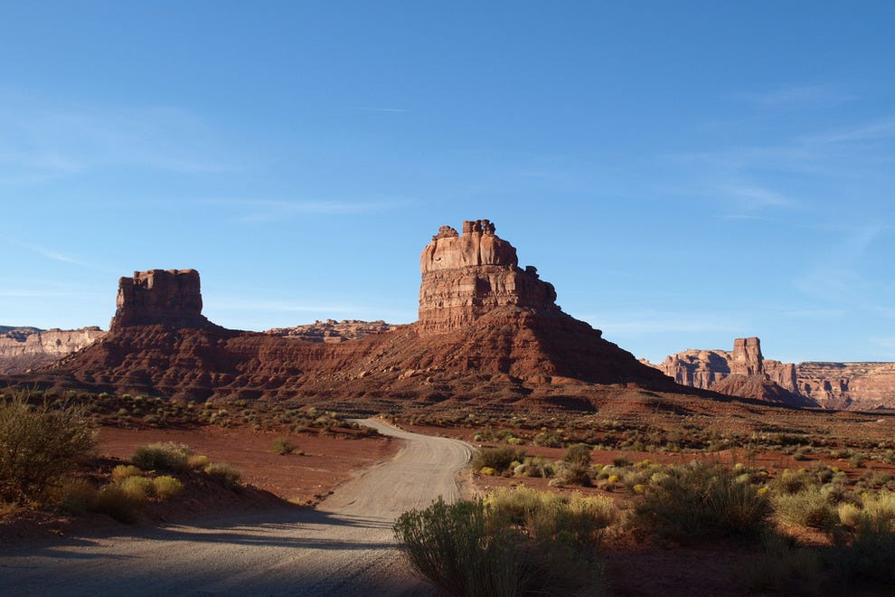 Stunning view on Valley of the Gods