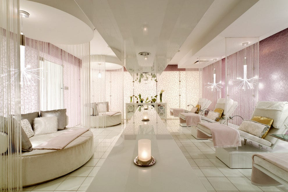 The Spa Sanctuary at the Ritz Carlton Los Angeles