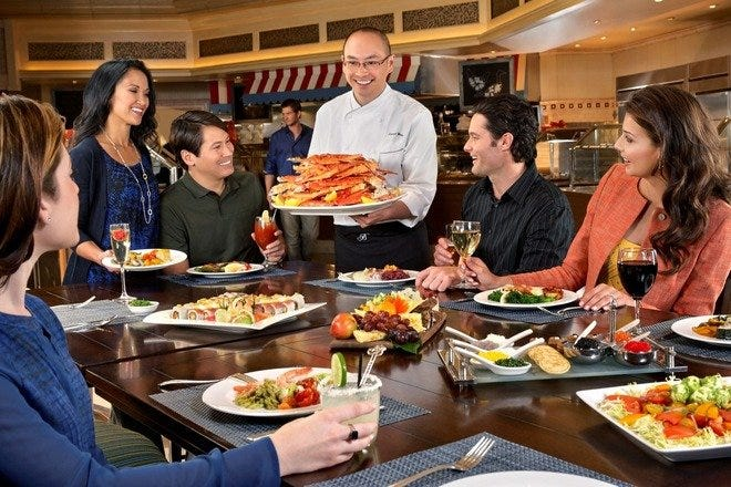 M casino buffet price las vegas