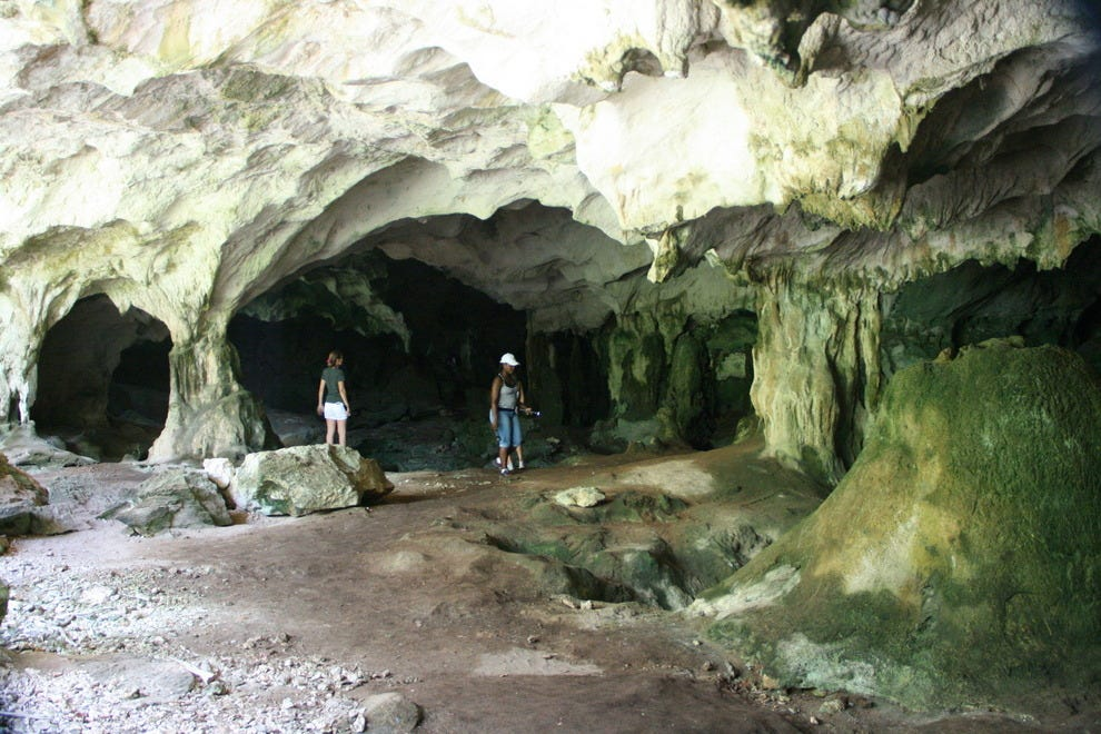 Caves of Middle Caicos