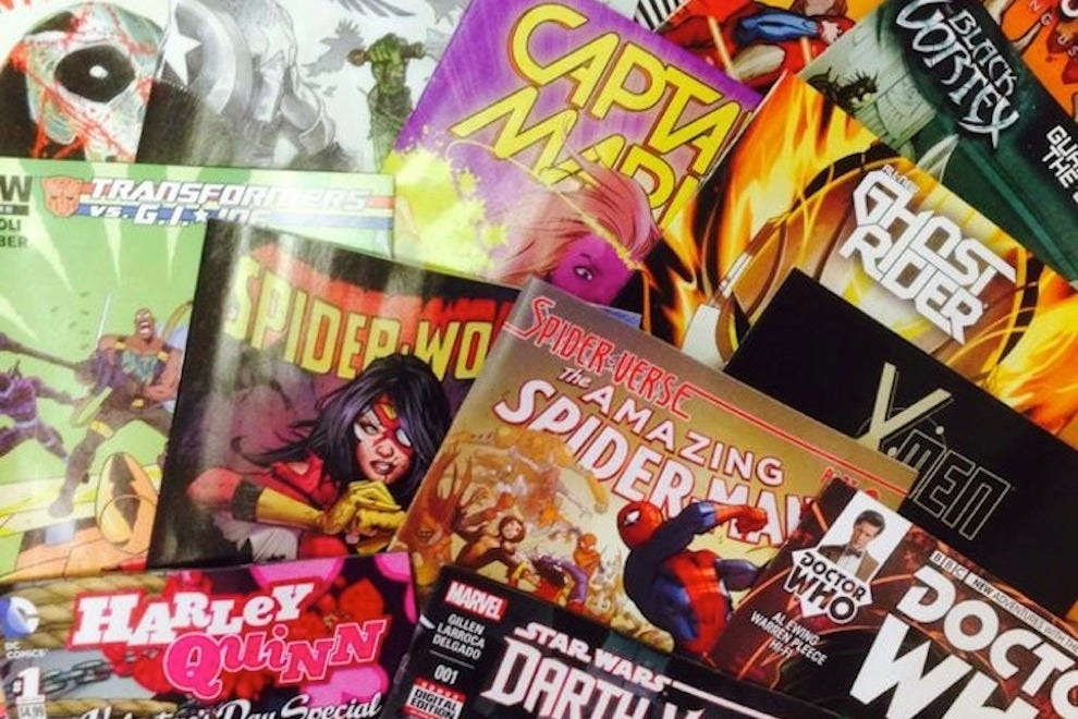 Comic books are the bestseller at SuperVillian Comics