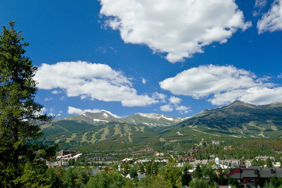 Breckenridge in the summer — Photo courtesy of Jeff Andrew, Vail Resorts